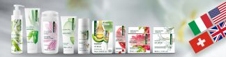 naturaline Swiss Cosmetics ist eine internationale Marke.