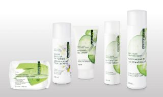 Face cleansing products of naturaline Swiss cosmetics.