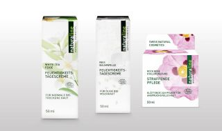 Face moisturizers of naturaline Swiss cosmetics.