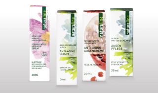 Anti-aging creams of naturaline Swiss cosmetics.